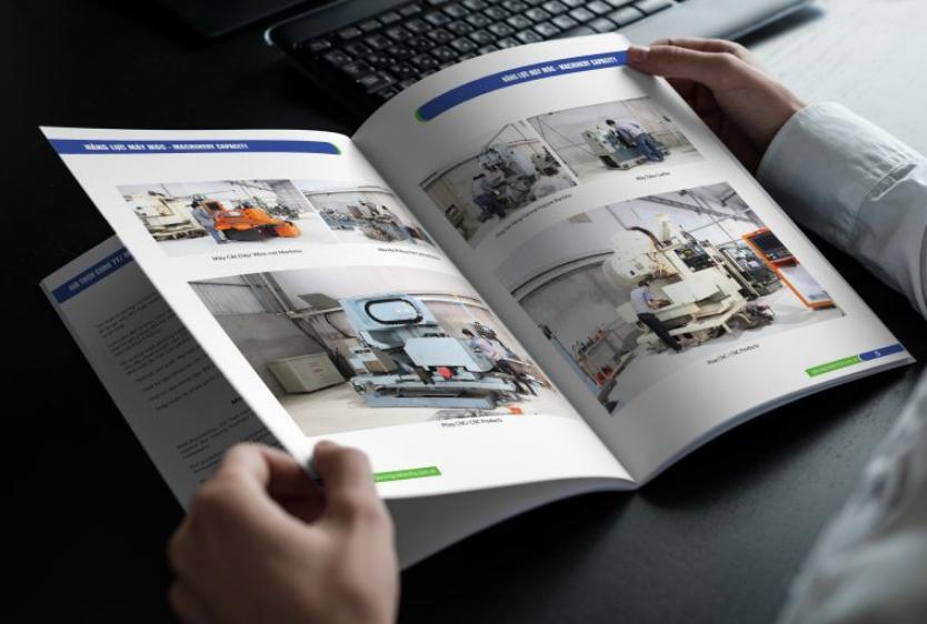 Lưu ý về đồ họa trong thiết kế profile công ty cơ khí