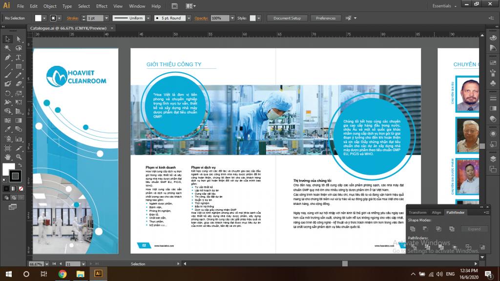 Adobe Illustrator (AI) - Phần mềm thiết kế profile chuyên nghiệp