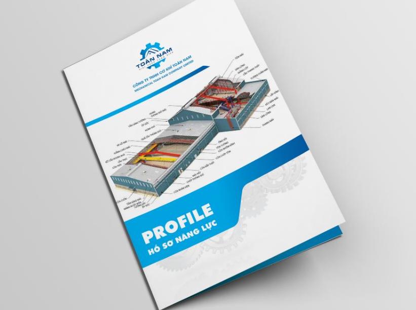 Thiết kế profile công ty cơ khí tại Adina Việt Nam