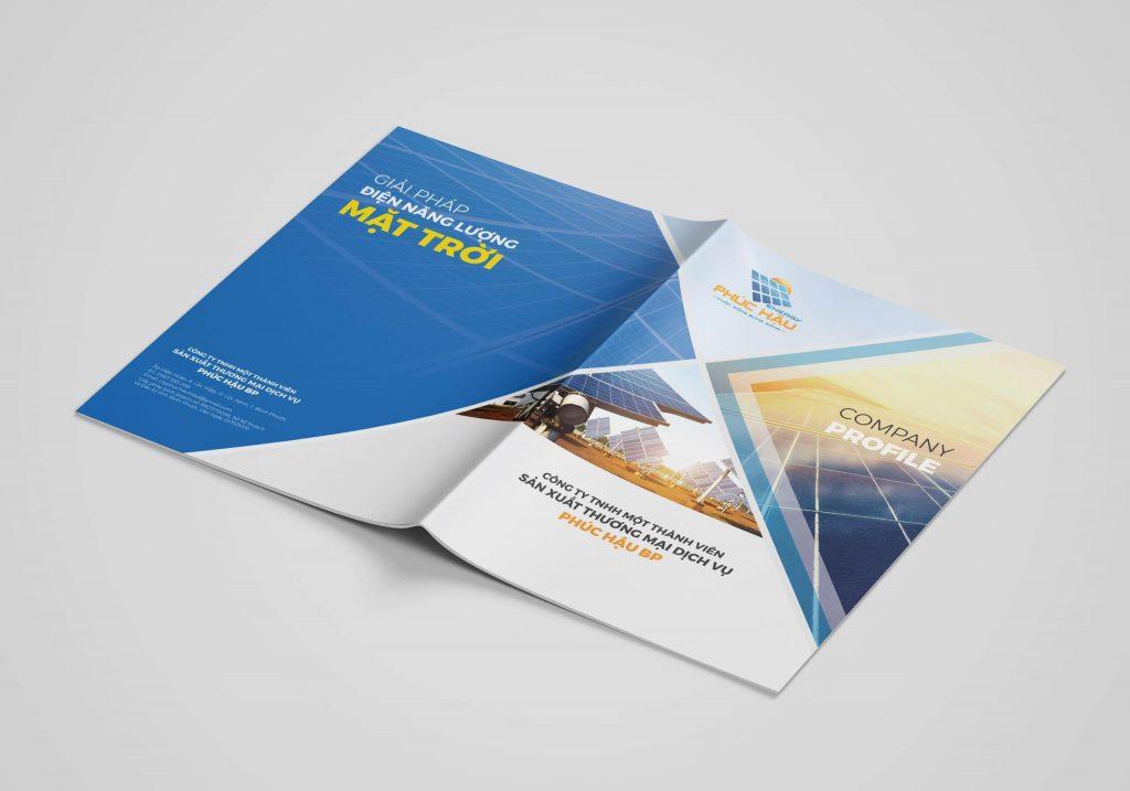 Cung cấp thông tin là một chức năng của thiết kế hồ sơ năng lực công ty TNHH