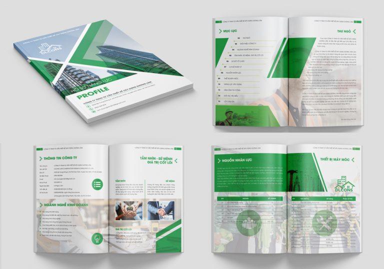 Thiết kế hồ sơ năng lực công ty TNHH tại Adina Việt Nam