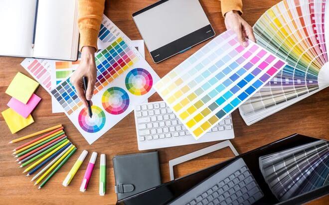 Adina Việt Nam hỗ trợ chỉnh sửa các options trong quy trình thiết kế bộ nhận diện thương hiệu