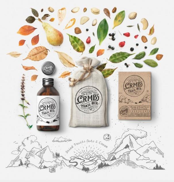 Bao bì trong thiết kế thương hiệu được thực hiện bởi Matiz Lupus (Nguồn: Sưu tầm)