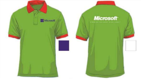 Đồng phục nhân viên của Microsoft