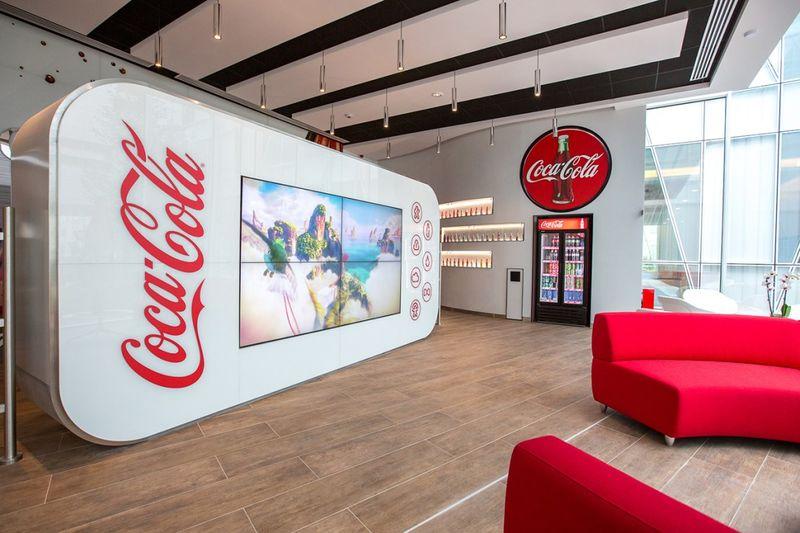 Không gian thương hiệu Coca-Cola