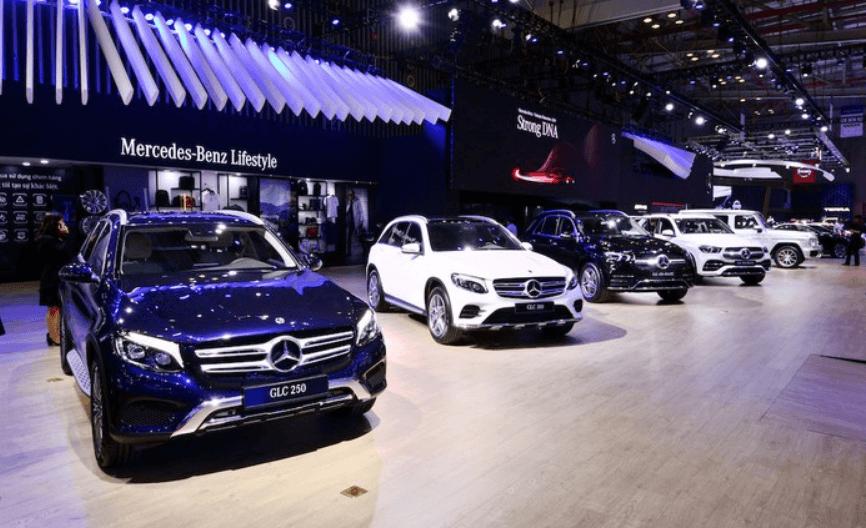 Không gian thương hiệu Mercedes-Benz