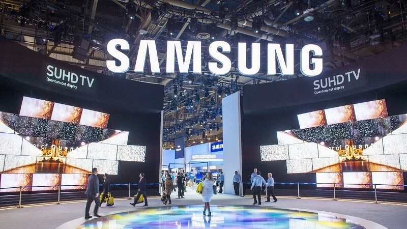 Không gian thương hiệu Samsung