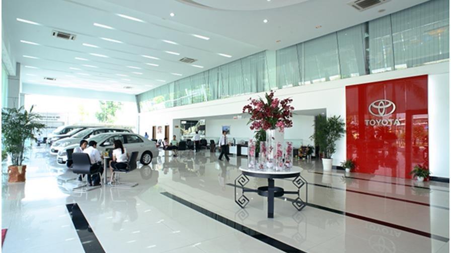 Không gian thương hiệu Toyota