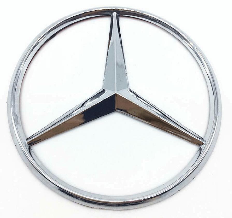 Logo Mercedes-Benz trong nhận diện lõi của thương hiệu
