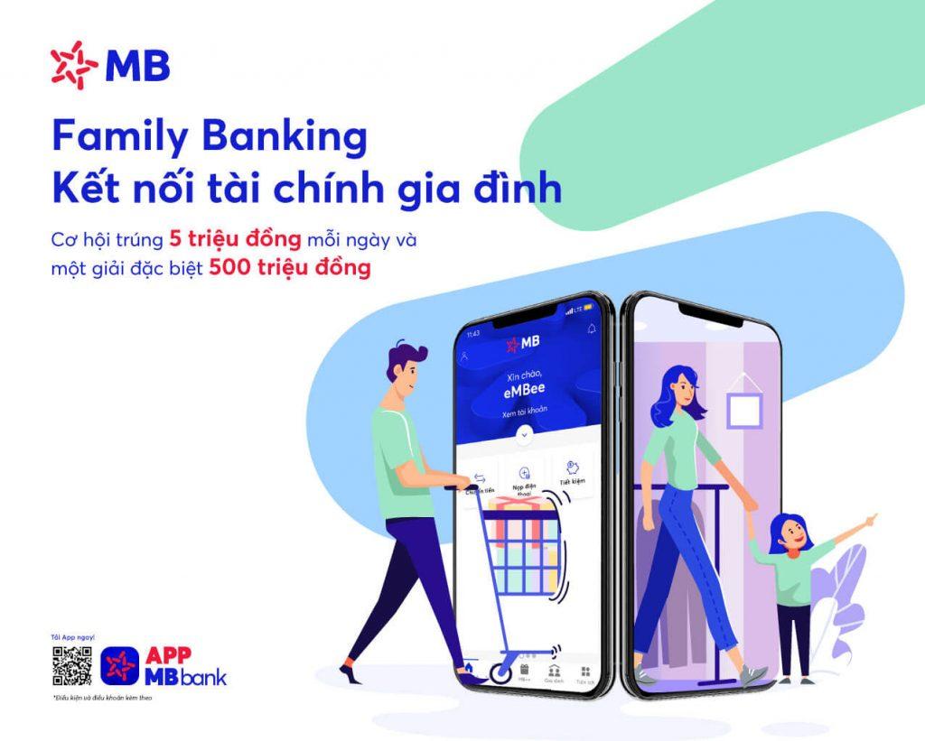 Nhận diện số thương hiệu ngân hàng MB Bank (Nguồn: Sưu tầm)