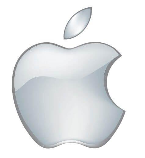 Thiết kế logo trong hệ thống nhận diện thương hiệu của Apple