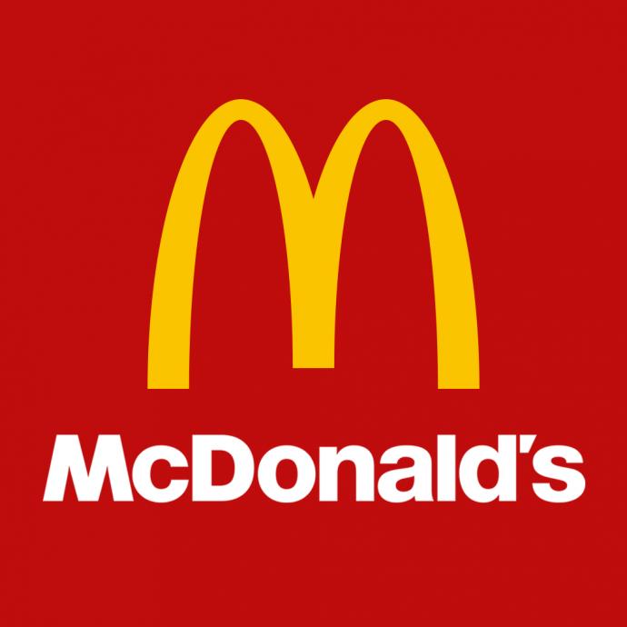 Logo nhận diện thương hiệu McDonald's