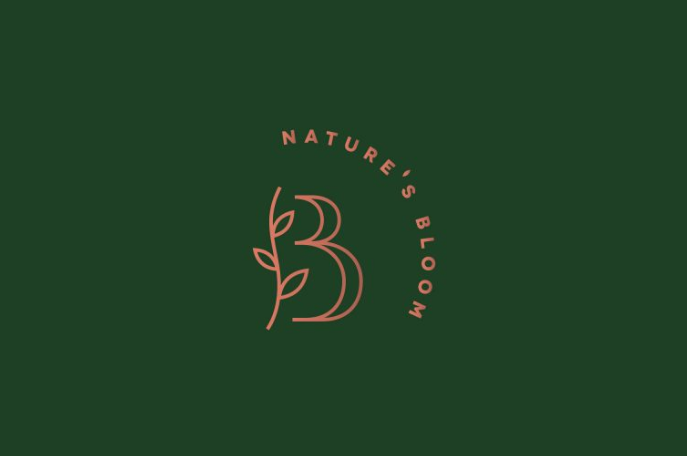 Thiết kế logo Nature's Bloom