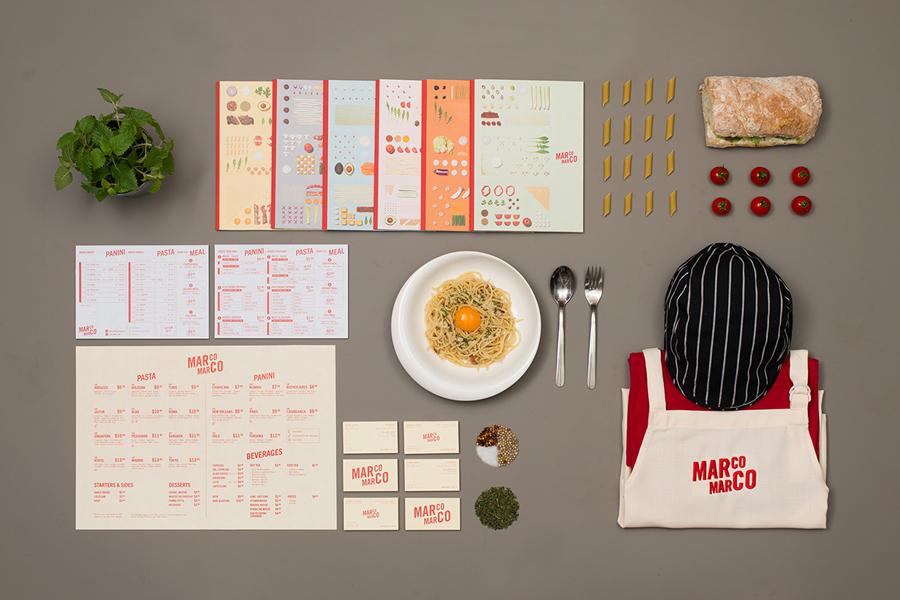 Bộ nhận diện thương hiệu nhà hàng