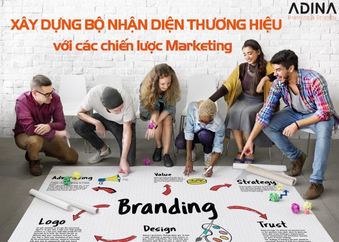 Xây dựng bộ nhận diện thương hiệu mạnh với những chiến lược marketing sau