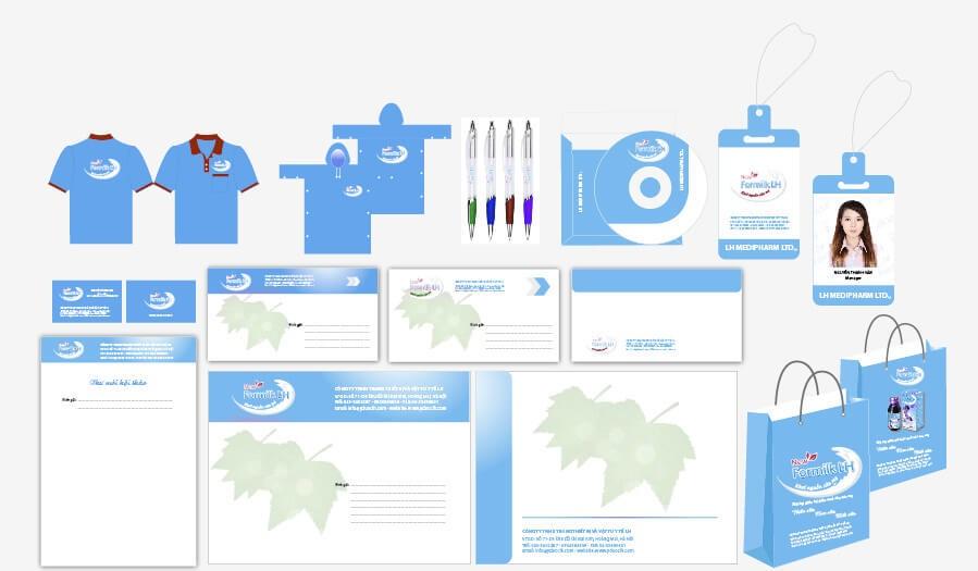 Chú trọng thiết kế bộ nhận diện thương hiệu chuyên nghiệp