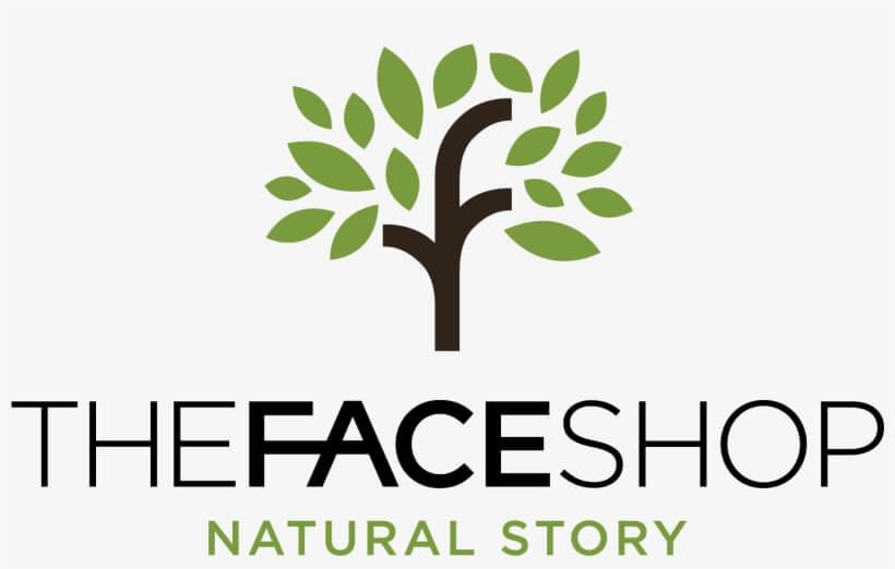 Logo biểu tượng cây xanh của The Face Shop