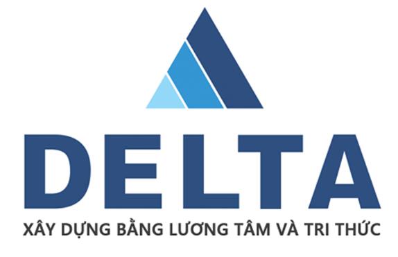 Logo công ty xây dựng Delta (Nguồn: Sưu tầm)