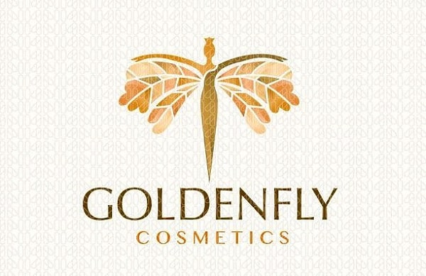 Logo mỹ phẩm Golden Fly