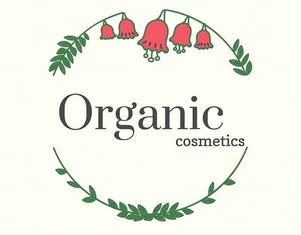 Logo mỹ phẩm tự nhiên Organic Cosmetic