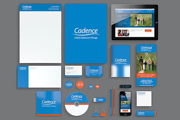 Mẫu bộ nhận diện thương hiệu Cadence (Nguồn: Sưu tầm)