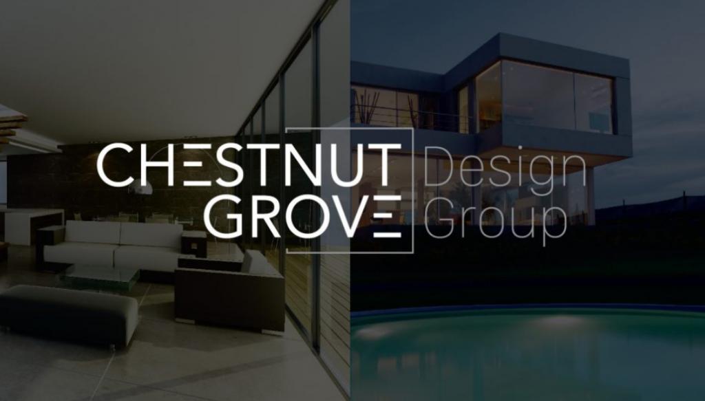 Mẫu logo công ty nội thất Chestnut Grove Design Group