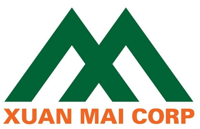 Mẫu thiết kế logo công ty xây dựng Xuân Mai (Nguồn: Sưu tầm)