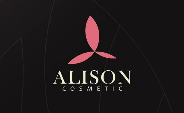 Thiết kế logo mỹ phẩm Alison