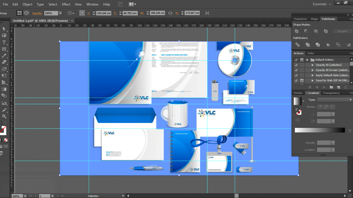 Phần mềm thiết kế bộ nhận diện thương hiệu