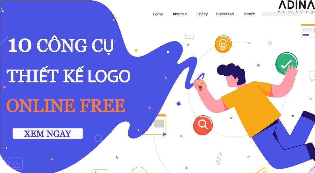 10 công cụ thiết kế logo online free tốt nhất