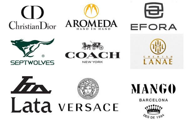 Logo thương hiệu túi xách thời trang (Ảnh: Sưu tầm)