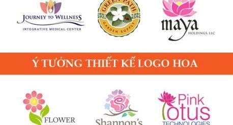 Ý tưởng thiết kế logo hoa