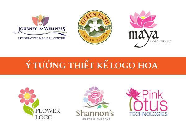 Thiết kế logo hoa với những ý tưởng tuyệt vời sau