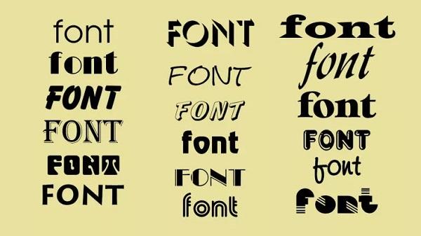 Ý nghĩa font chữ trong thiết kế logo
