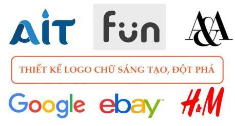 thiết kế logo chữ