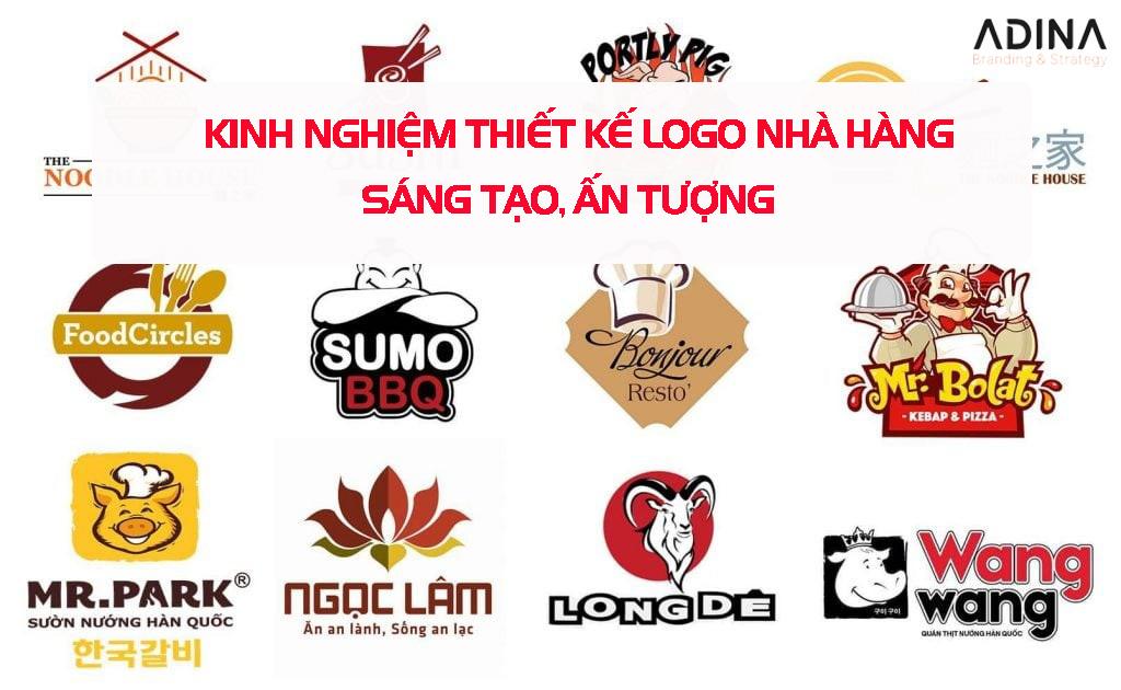 Thiết kế logo nhà hàng, quán ăn