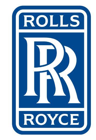 Logo hình chữ nhật của Rolls Royce