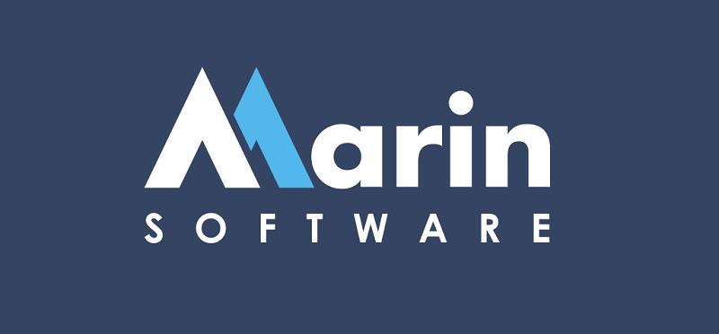 Logo Marin Software trong các chiến dịch truyền thông