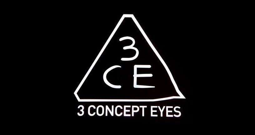 Mẫu logo quảng cáo mỹ phẩm 3CE
