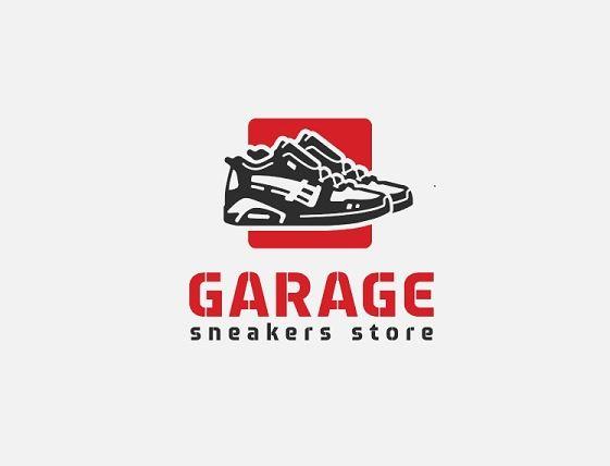 Logo shop giày thể thao GARAGE