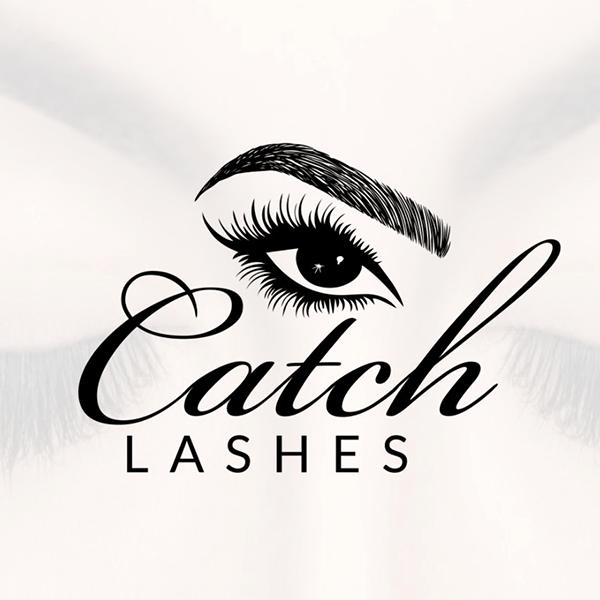 Mẫu logo CATCH LASHES của nhà thiết kế Joty