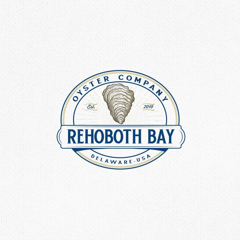 Mẫu logo đồ ăn của REHOBOTH BAY