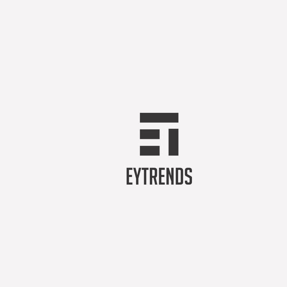 Mẫu logo đơn giản của EyTrends (Nguồn: Sưu tầm)