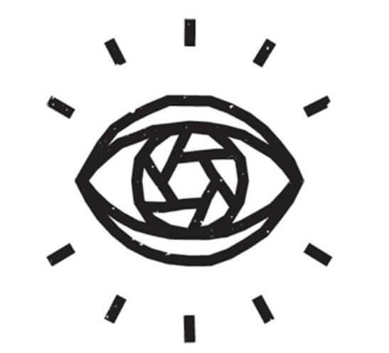Mẫu logo salon nối mi Iris của Adam Whitcroft