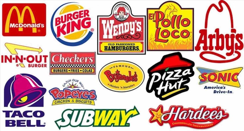 Màu sắc tốt nhất khi thiết kế mẫu logo đồ ăn