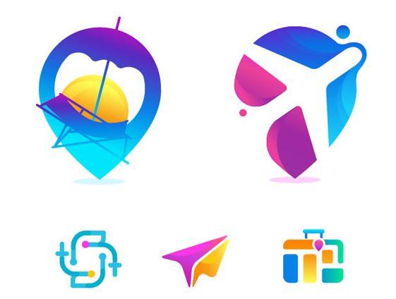 Sử dụng tốt màu sắc trong logo du lịch
