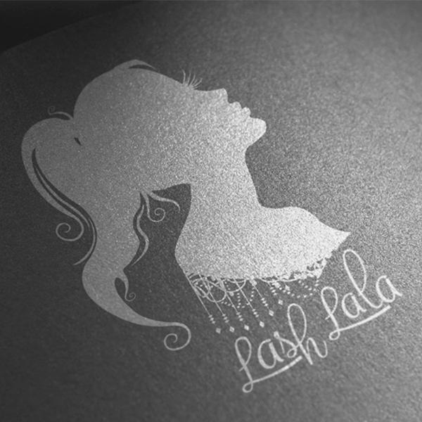 Thiết kế logo Lash Lala của Michael