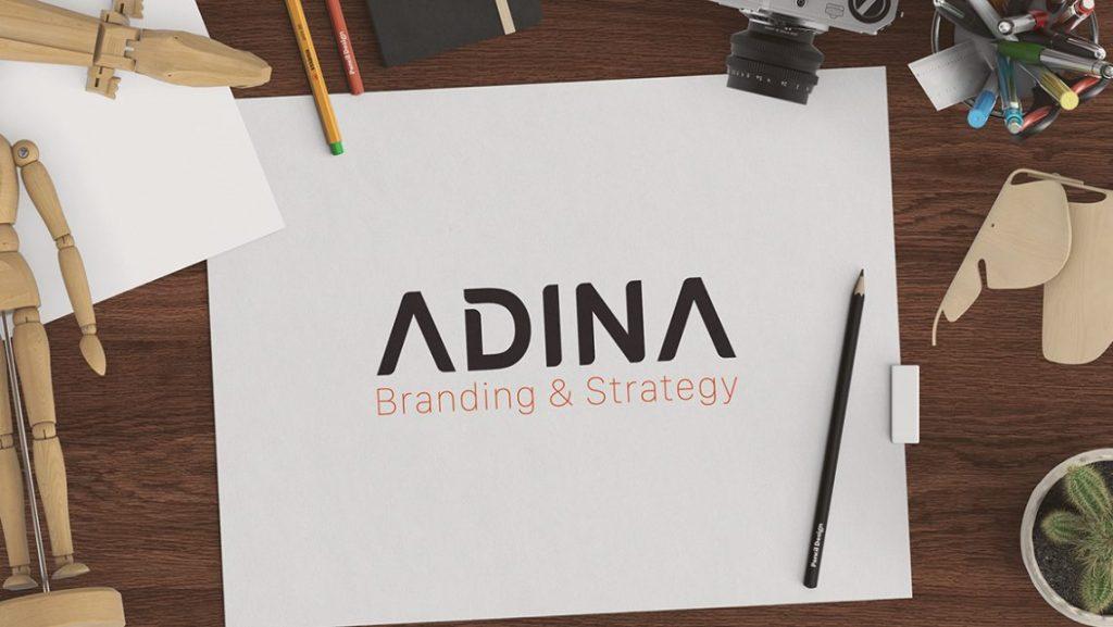 Thiết kế logo shop giày tại Adina Việt Nam