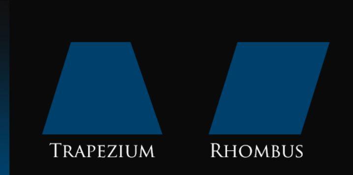 Các biến thể của logo hình chữ nhật