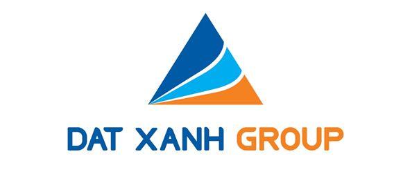 Logo màu xanh dương kết hợp tông vàng ấm